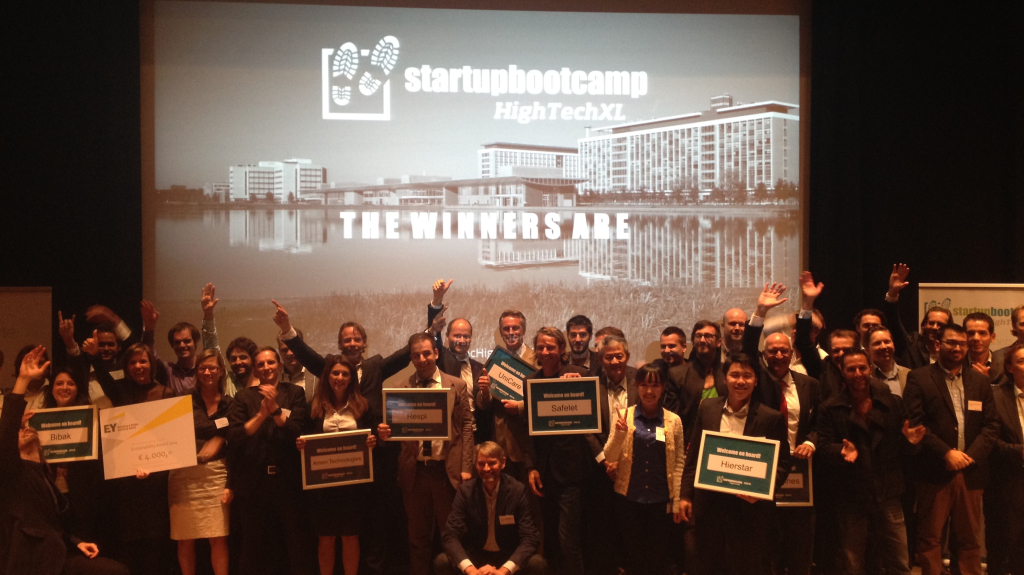Startupbootcamp HighTechXL - final selection day winners program 2
