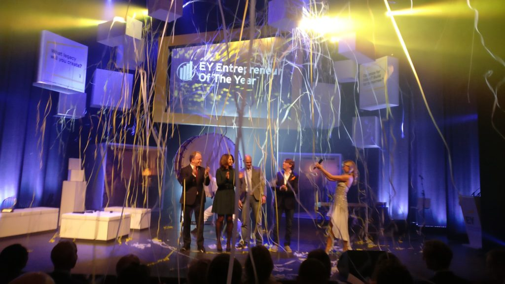 EY Entrepreneur of the Year award winner celebration (c) Frank Zandhuis